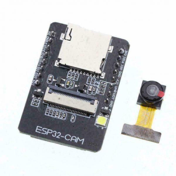 ESP32-CAM Overvåkningskamera ansiktsgjenkjenning - WIFI og Bluetooth Security camera - face recognition ESP32 CAM03