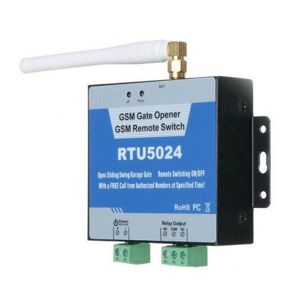 GSM relemodul Gate Opener Relay Remote Control SIM card GSMrelay3A