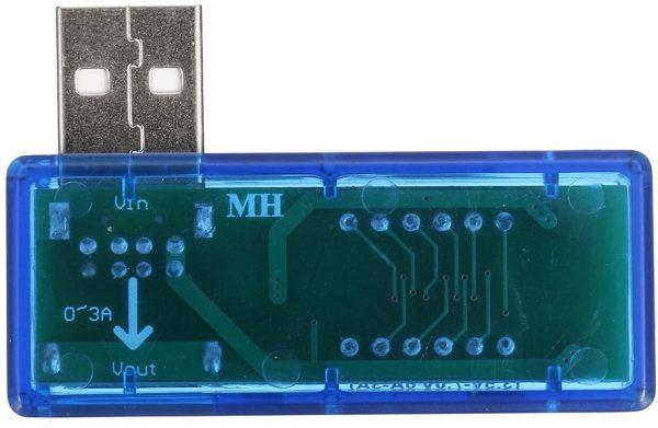 USB voltmeter ampermeter 3.5V-7V 0A-3A USB Charger Voltage Current Meter Mobile Tester Amper Voltmeter Power Detector Charge doctor Chargerdoctor04