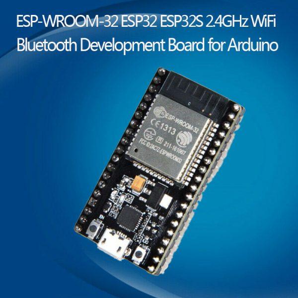 ESP32 NodeMCU utviklingskort 2.4GHz WiFi Bluetooth Dual Mode CP2102 ESPRESSIF wroom ESP3201