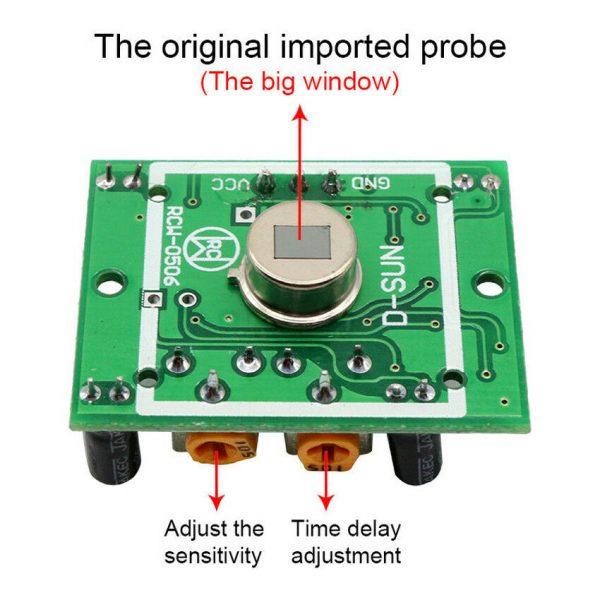 HC-SR501 Infrared PIR Motion Sensor Pyroelectric Module For Arduino Raspberry Pi HC SR50105