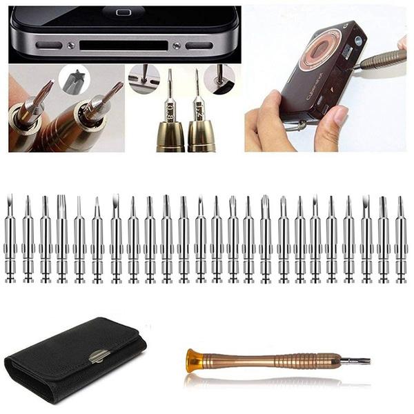 Presisjonsskrutrekkere - Skrutrekkersett for PC, mobiler, kamera og annen elektronikk Skrutrekkersett04