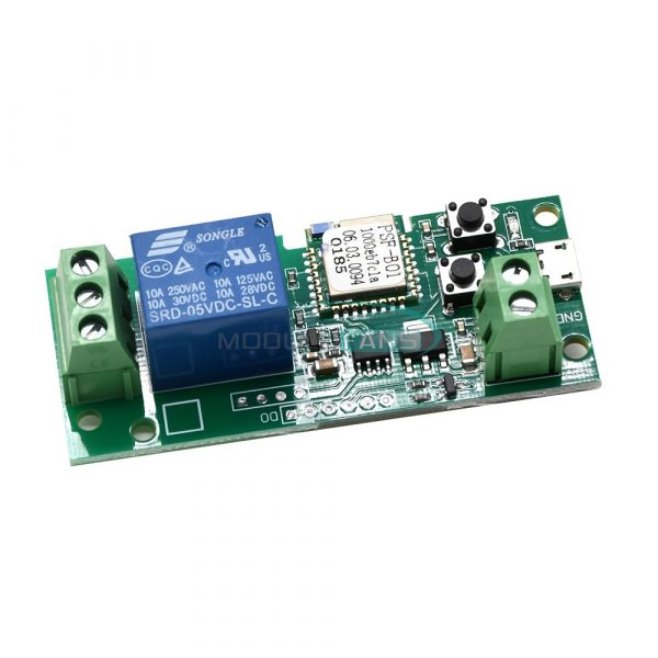 5V Sonoff WiFi relemodul Wireless Smart APP Switch Relay Module FO Home Apple Android img 6311