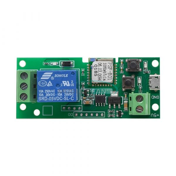 5V Sonoff WiFi relemodul Wireless Smart APP Switch Relay Module FO Home Apple Android img 6315