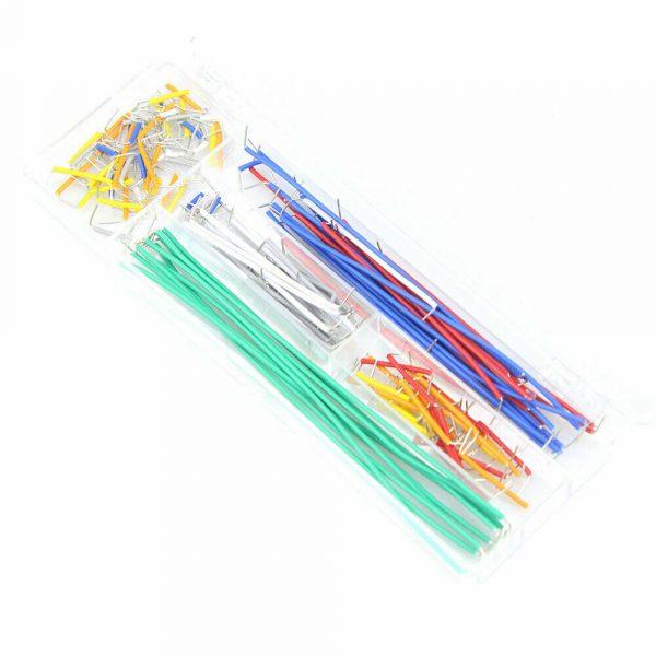 140 stk u-formet koblingsbrettkabler - u-shape breadboard jumper cable wire kit Arduino ujumper02