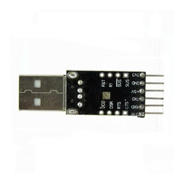 USB til Seriell - 6Pin USB til TTL UART Serial Converter CP2102 STC Replace Ft232 USBserielCP210201