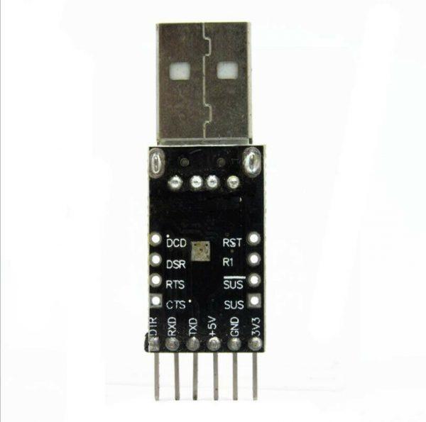 USB til Seriell - 6Pin USB til TTL UART Serial Converter CP2102 STC Replace Ft232 USBserielCP210202