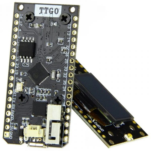 2 stk LORA32 868Mhz SX1276 ESP32 Oled-Display Bluetooth WIFI Lora Development Board img 6741 1