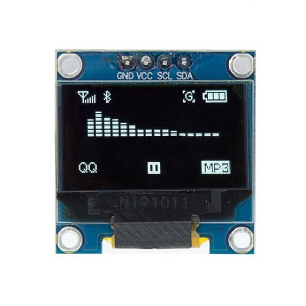 0.96 / 0.91 OLED Display Module for Arduino, Raspberry osv (flere valg) 0 96 inch I2C IIC Serial White OLED